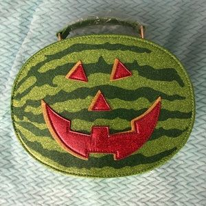 Backstitch Bruja Summerween Watermelon Purse NEW